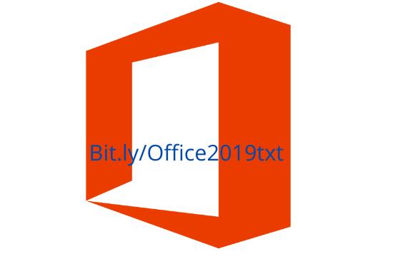 Bit.lyOffice2019txt