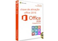 Chave de Ativação Office 2016